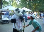 Panda&V-kun