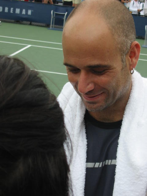 Agassi Sign Please